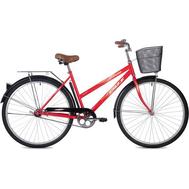 "Велосипед Foxx 28"" Fiesta  красный + передняя корзина, фото 1"