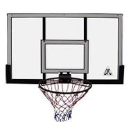 Стандартный щит для баскетбола DFC 48 68622P кольцо в комплекте, фото 1