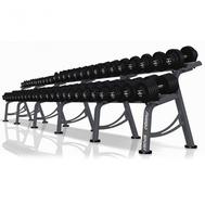 Гантельный ряд 4-56 кг (27 пар) с подставкой Marbo Sport MP-SH4-56 KG, фото 1