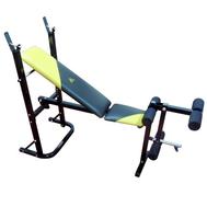 Домашняя силовая скамья - DFC D210, стойка, парта, ролики в комплекте, фото 1