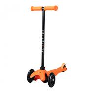 Самокат со светящимися колесами PLAYSHION FS-MS001LO (Оранжевый), фото 1