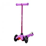 Самокат со светящимися колесами PLAYSHION FS-MS001LV (Фиолетовый), фото 1
