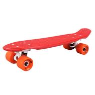 Скейтборд пластиковый PLAYSHION FS-PS001R (Красный), фото 1