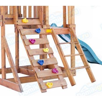 Игровая площадка BABYGARDEN с балконом, скалолазкой и горкой 1.8 м, фото 10