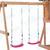 Игровая площадка BABYGARDEN с балконом, скалолазкой и горкой 1.8 м, фото 7