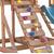 Игровая площадка BABYGARDEN с балконом, скалолазкой и горкой 1.8 м, фото 8